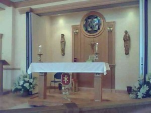 St. Augustine's Rolling Altar
